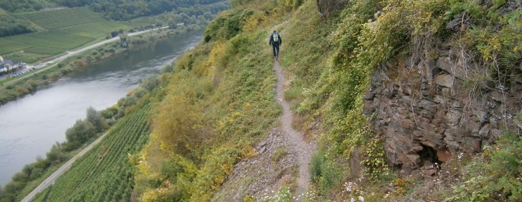 Volg het pad naar omhoog